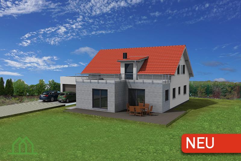 Einfamilienhaus Holzhaus Extension