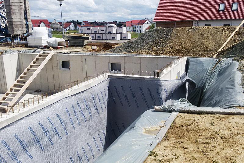 Kellerausbau in Rothenburg - mehrgeschossiger Holzhausbau