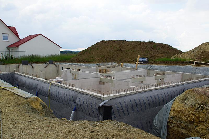 Kellerausau in Rothenburg MohrHolzhaus Bauvorhaben ROTHENBURG LIGNUM