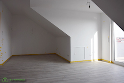 Dachgeschosswohnung Rothenburg Lignum