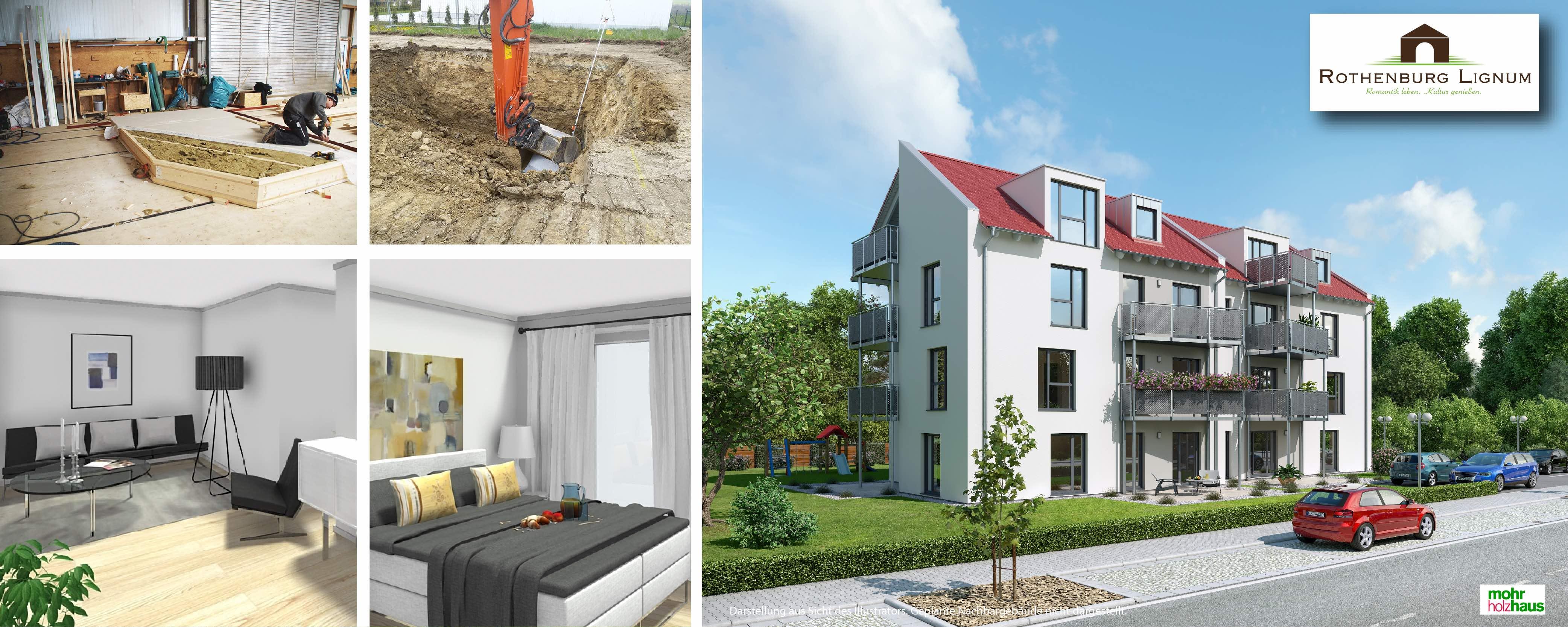 Baubeginn Rothenburg Lignum