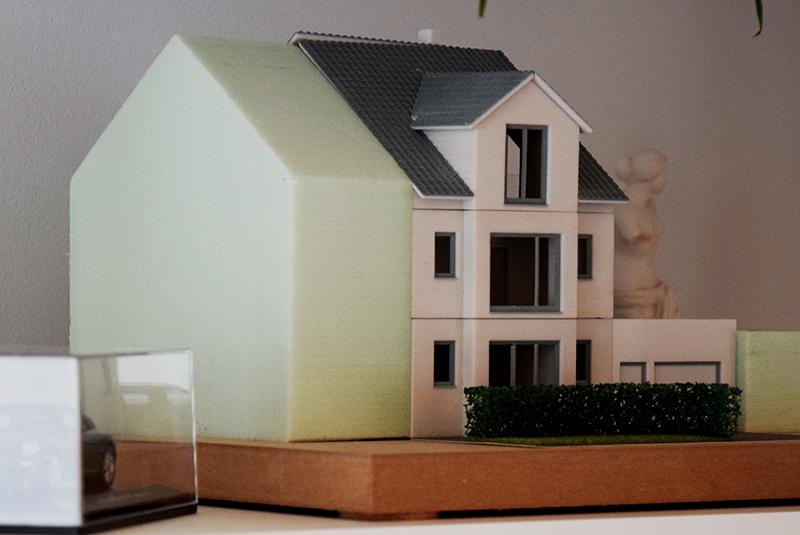 MohrHolzhaus Homestory – Gebäudemodell