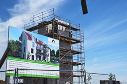 Baustelle Rothenburg Lignum MohrHolzhaus
