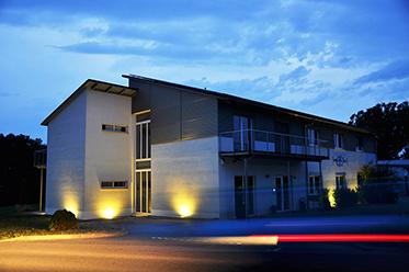 MohrHolzhaus GmbH Referenzen Gewerbebau – ecs GmbH Verwaltungsgebäude Gewerbeimmobilien MohrHolzhaus Fertigbau