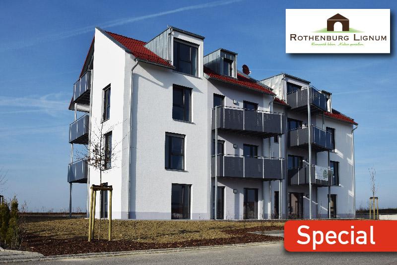 MohrHolzhaus Mehrgeschossiges Bauen mit Holz ROTHENBURG LIGNUM