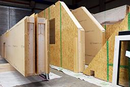 Bauchronik Einfamilienhaus WORK & LIFE – Fertighaus in Holzbauweise Wandelement Zimmerei Ansbach