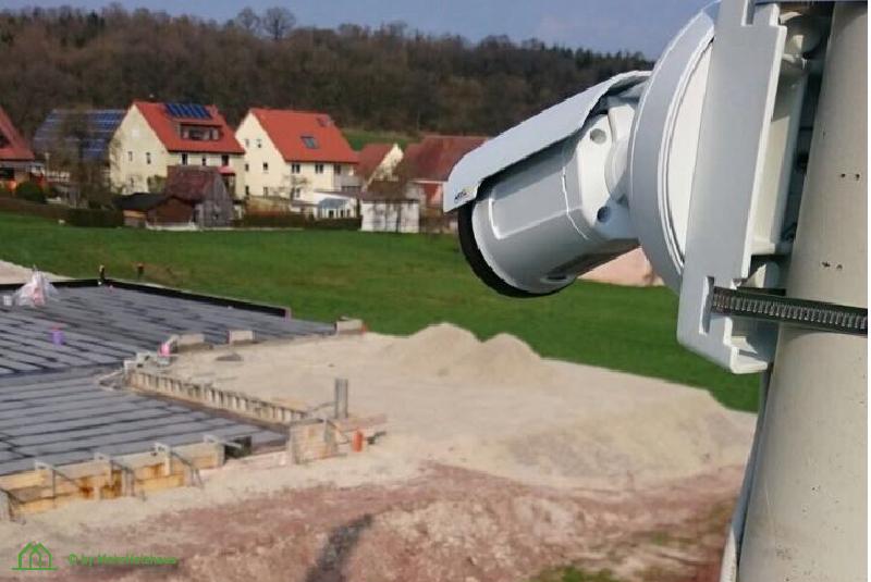 Baustellenkamera Tagespflege Weihenzell