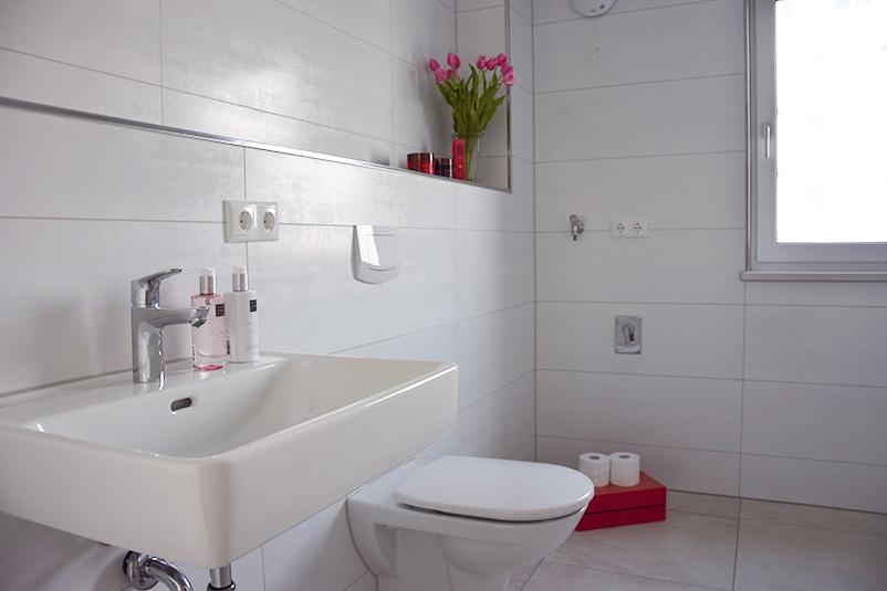 Modernes Badezimmer Holzbau