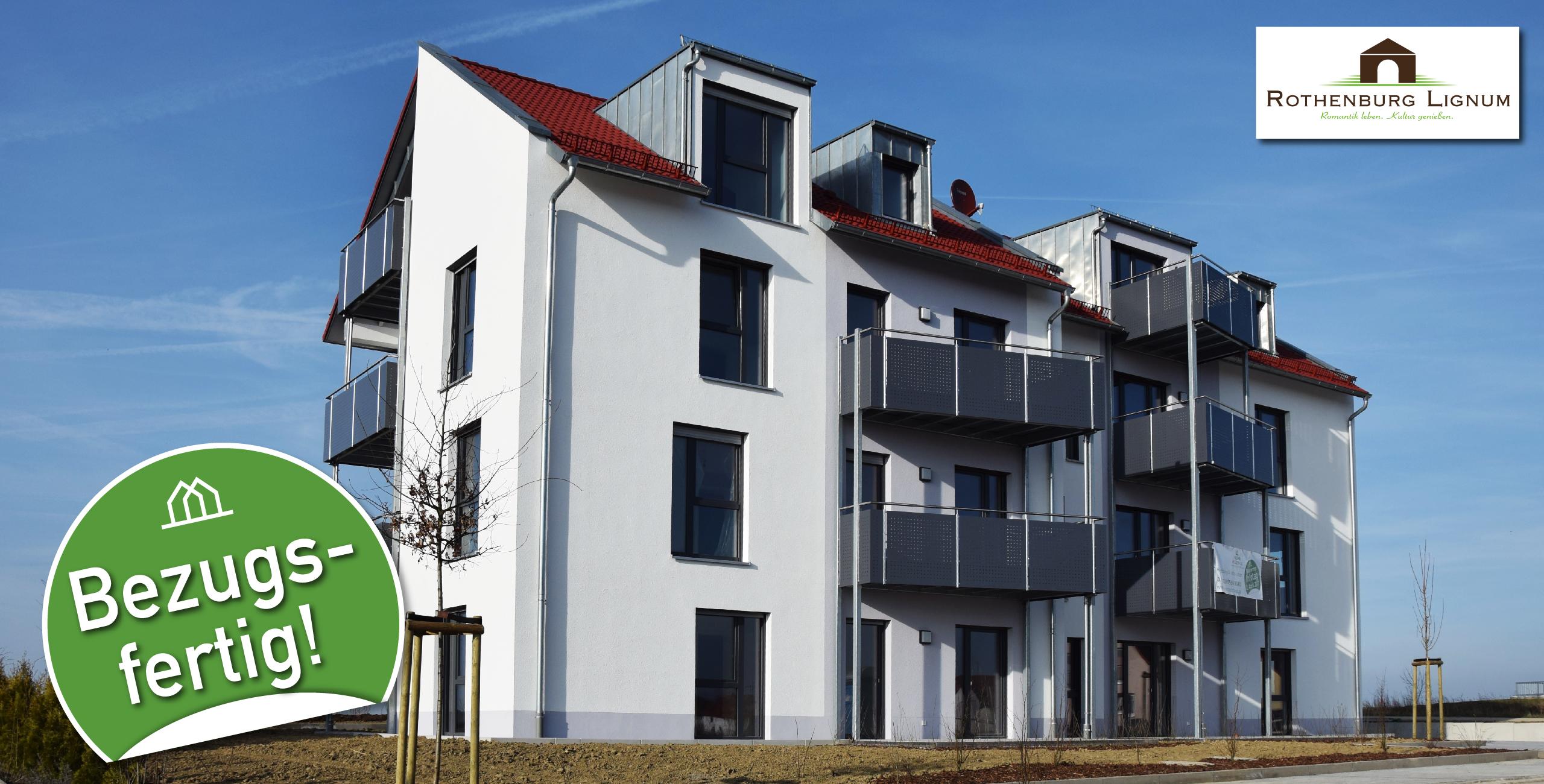 Rothenburg Lignum bezugsfertig