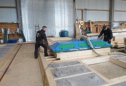 Zimmerei Mohr fertigt Holzhäuser