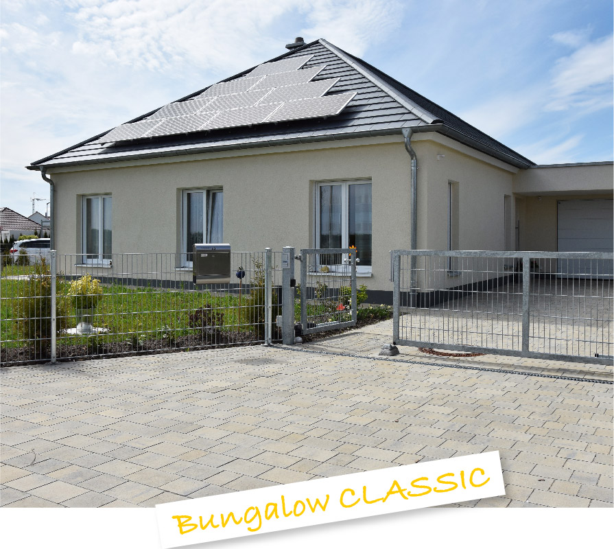 Bungalow Classic in Holzbauweise