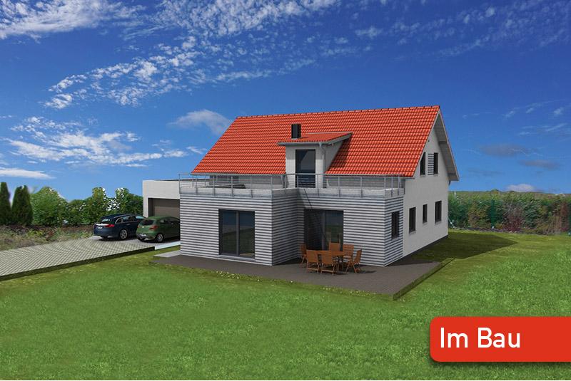 Einfamilienhaus Holzhaus bauen