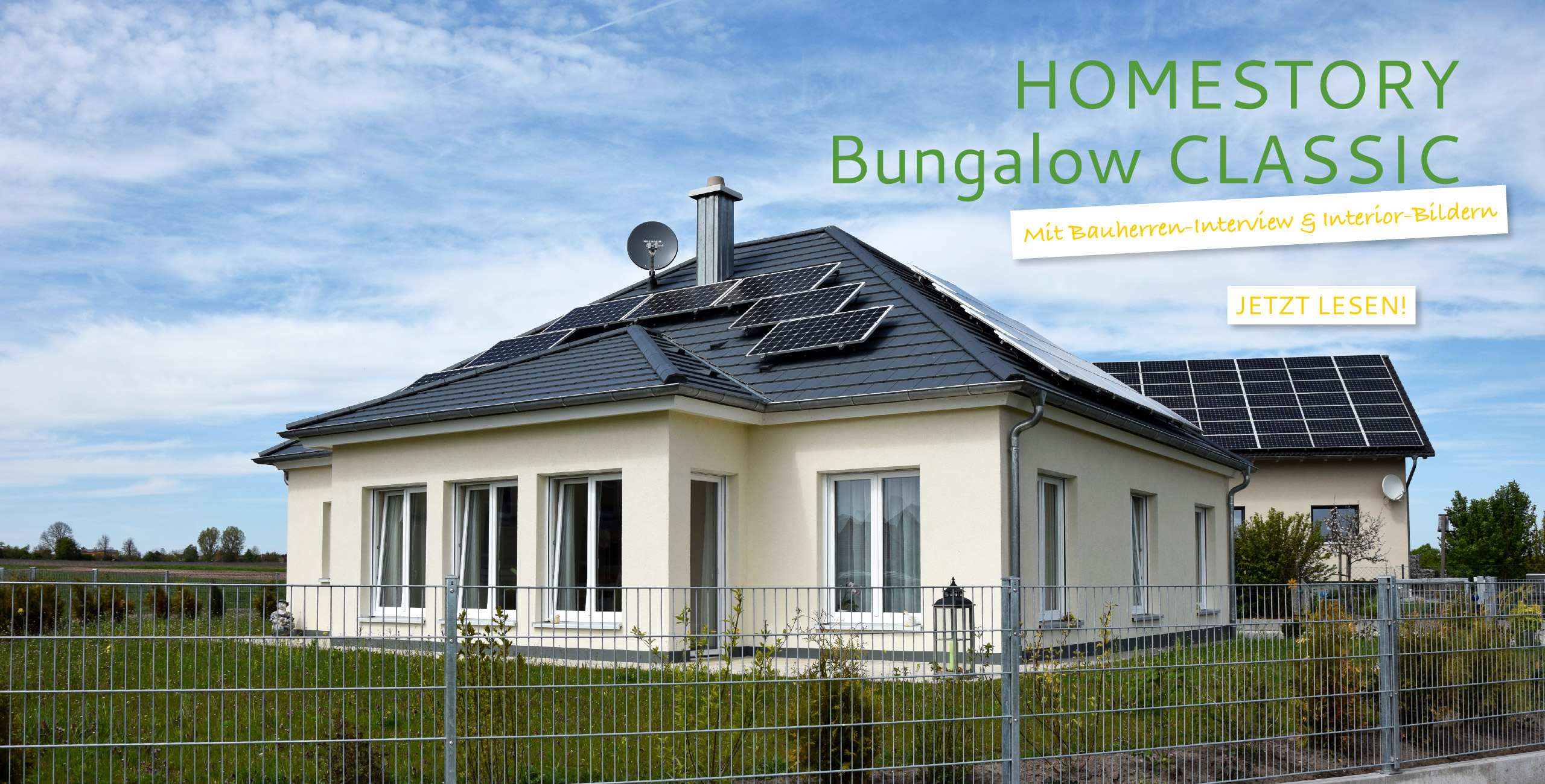 Homestory Bungalow Ansbach MohrHolzhaus