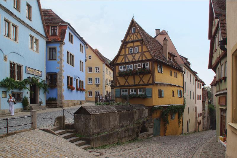 Langlebige Fachwerkhäuser Rothenburg