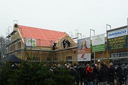 Holzbau Richtfest