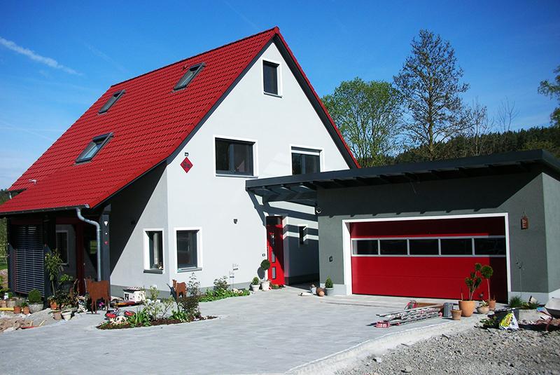 Ausbauhaus mit Homeoffice