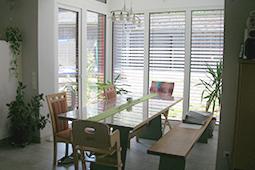Bauchronik Einfamilienhaus Wintergarten