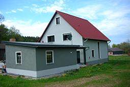Bauchronik Einfamilienhaus WORK & LIFE Fertighaus Schlüsselübergabe
