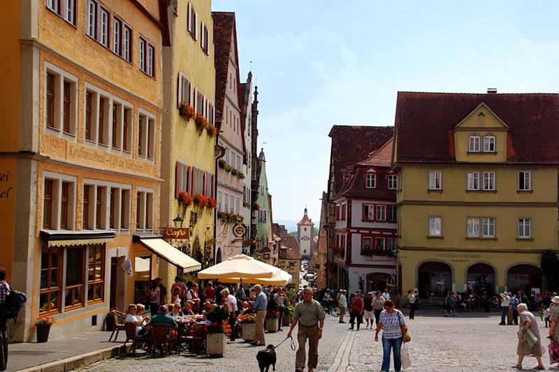 Rathausplatz Rothenburg ob der Tauber