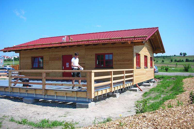 Xandy's Alm Biergarten Muhr am See – Zimmerei Ansbach Terrassenbau