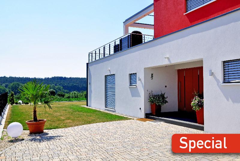 MohrHolzhaus GmbH Referenzen Neubau Häuser – Einfamilienhaus PURE Bauhaus