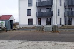 Anlegen der Außenanlagen Rothenburg Lignum