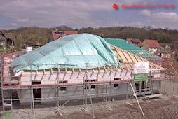 Baustellenkamera Montage Tagespflege Weihenzell