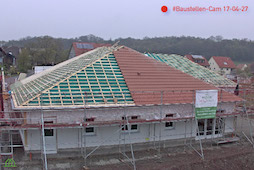 Dach eindecken Tagespflege Weihenzell