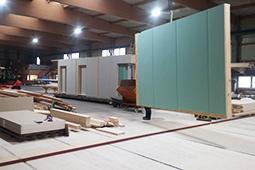 Werksfertigung Holzbau Ansbach