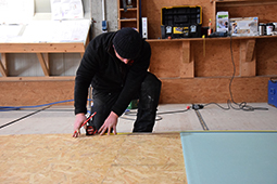 Wandelement Holzbau Tagespflege Seniorenalltag