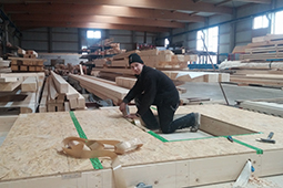 Gewerbebau Holzbau Ansbach