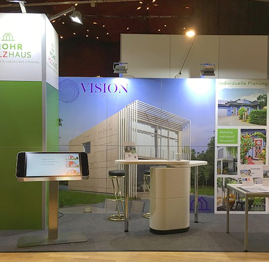 Messestand MohrHolzhaus