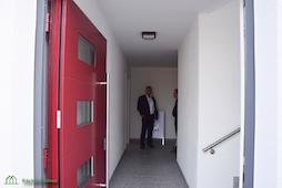 Eingangsbereich Rothenburg Lignum