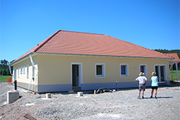 Rückseite Gebäude Tagespflege